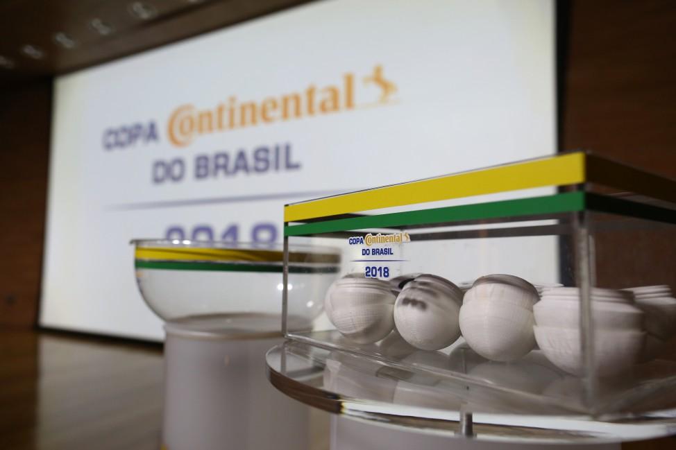 sorteio copa do brasil 2018 - foto cbf